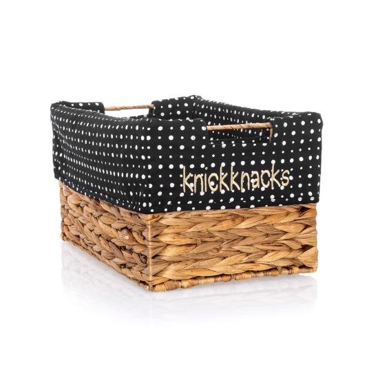 Your Way Rectangle Basket with Ditty Dot Liner (Sold Separately)